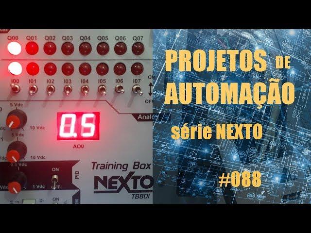 BLOCO FUNCIONAL COM CLP NEXTO | Projetos de Automação #088