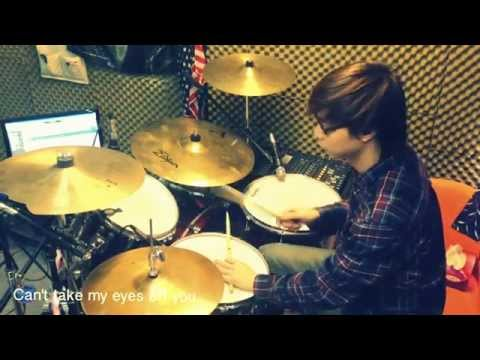 [Drum Cover] Can't take my eyes off you