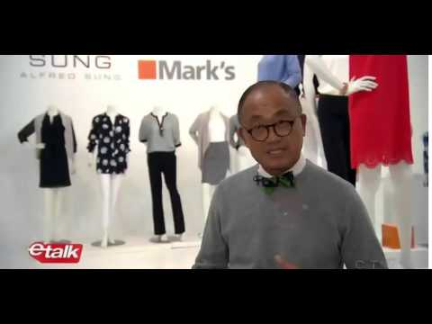 Alfred Sung on etalk