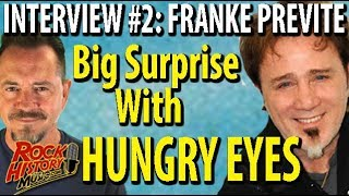 """Franke Previte Remembers Joy & Embarrassment of """"Hungry Eyes"""" From """"Dirty Dancing"""""""