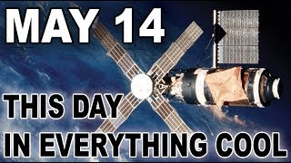 Science Lab in Space! - This Day In Everything Cool for May 14 - Electric Playground
