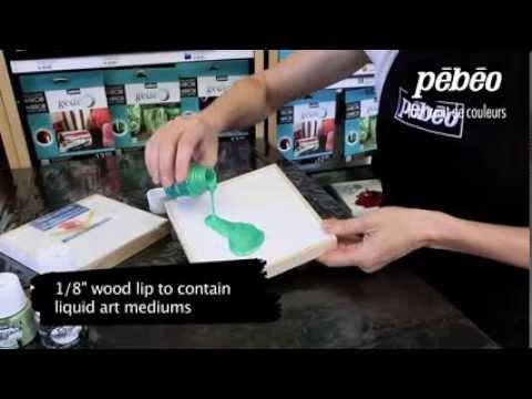 Pebeo  3D Liquid Art Panel