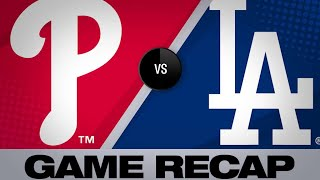6/2/19: 7-run 8th drives Dodgers to 8-0 win