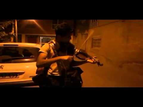 Violinist in the street-Iranian پسر ویولونیست  تهران