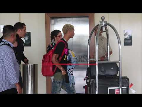 Jaden Smith llegó a Cartagena