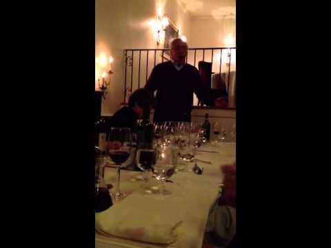 "Act IV of La Boheme ""Vecchia zimarra"" - Lou sings at Angelini Wine Holiday Party"