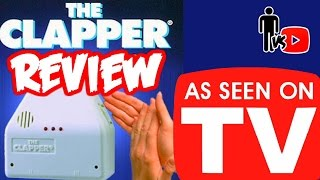 The Clapper - As Seen on TV Product Review - Man Vs Youtube #17
