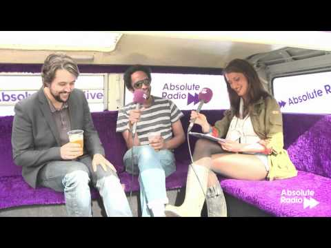 Elbow interview at Isle of Wight Festival 2012