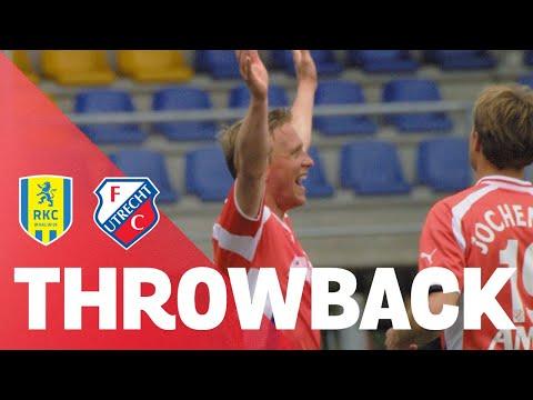 THROWBACK | Robert Roest REDT FC Utrecht tegen RKC Waalwijk!