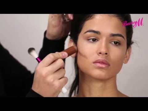 How to Use Barry M's Chisel Cheeks Contour Creams with Adam Burrell