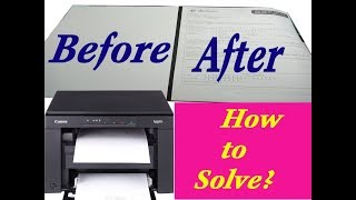 how to solve no print output on canon G2000,G3000,G1000