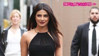 Priyanka Chopra Greets Fans & Signs Autographs At Jimmy Kimmel Live! 5.9.17