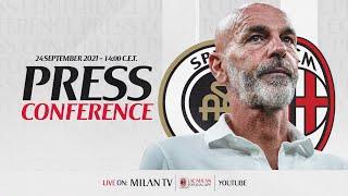 Pioli LIVE | Conferenza stampa | #SpeziaMilan