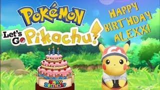 DO YOU EVEN POKÉMON? | Pokémon Let's Go Pikachu for Alexx's Birthday! | Vidiocy