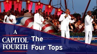 The Four Tops perform a medley of their greatest hits on the 2017 A Capitol Fourth