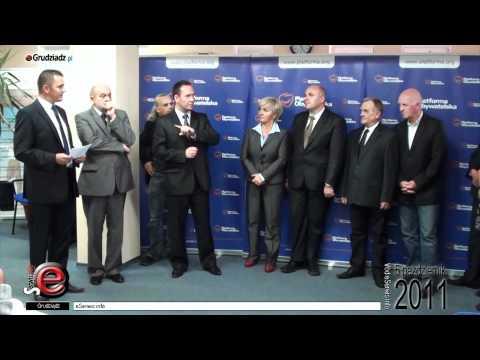 Briefing - komitet poparcia Tomasza Szymańskiego