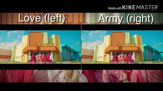 BTS - BOY WITH LUV AND ARMY WITH LUV VERSION (wear headphones)