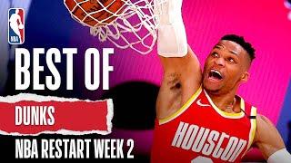 Best Of DUNKS Week 2 | NBA Restart