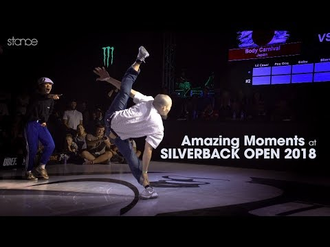 Amazing Moments at SILVERBACK OPEN 2018 // .stance