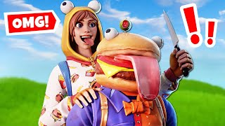 ONESIE PLAYS *MURDER MYSTERY* Custom Gamemode in Fortnite Battle Royale!
