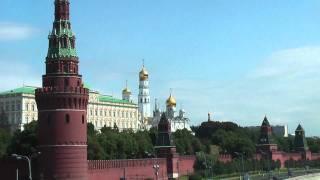 JUERGEN SCHREITER MOSCOW TRAVEL MINUTE | Moscow Kremlin - Moskva River