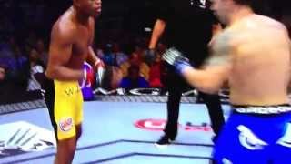 Anderson silva knocked out
