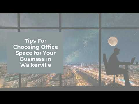 Tips for choosing an office space in Walkerville