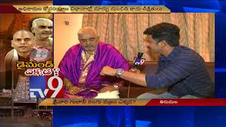 Face to Face with Tirumala Temple Chief Priest AV Ramana D..