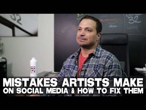Mistakes Artists Make On Social Media & How To Fix Them by Richard