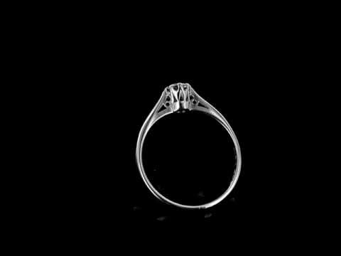 Browns Family Jewellers Platinum 8-Claw Diamond Solitaire Ring
