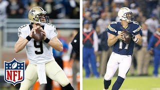 How Drew Brees was pushed out by Philip Rivers & Saved the Saints | #ThrowbackThursday | NFL