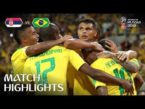 Serbia v Brazil 0-2