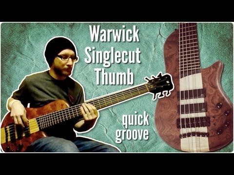 Warwick Thumb Singlecut bass + Ashdown Mag - quick groove
