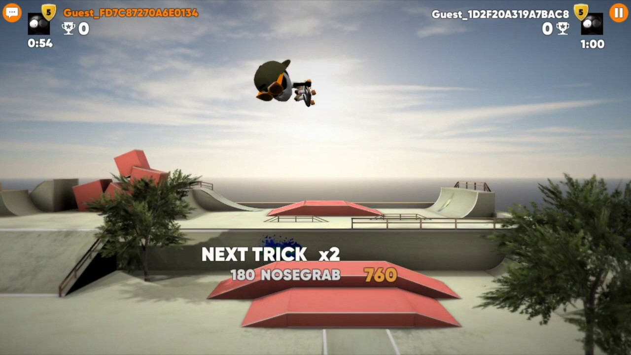 Play Stickman Skate Battle on PC 2
