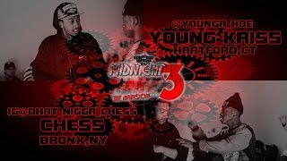 B.CITY - WEGOHARDTV PRESENTS - YOUNG KRISS VS CHESS