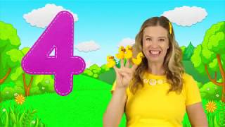 Five Little Ducks  Kids Songs  Nursery Rhymes  Learn to Count the Little Ducks