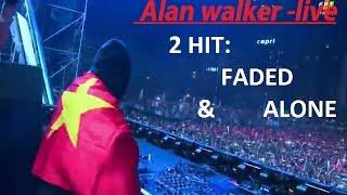 Alan Walker- HIT: AlONE & FADED,  Live Ravolution Music Festival.8/12/2016,VIETNAM
