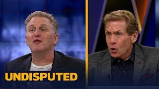 Michael Rapaport and Skip Bayless get into it after Mayweather's win vs McGregor | UNDISPUTED