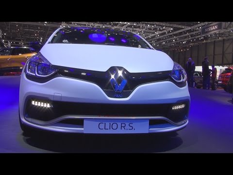 Renault Clio R.S. Trophy 220 EDC 1.6 T 220 (2016) Exterior and Interior in 3D