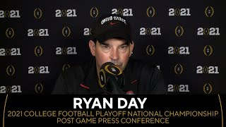 Ryan Day: 2021 College Football Playoff National Championship Post Game Conference | CBS Sports HQ