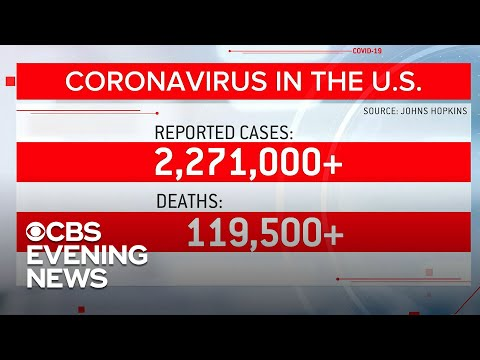 Coronavirus death toll nears 120,000 as states report more infections