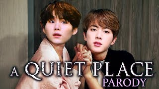 A Quiet Place but with BTS | MiniMoochi