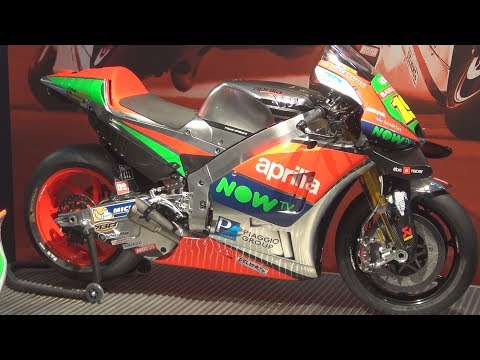 @ApriliaOfficial RS-GP (2017) Exterior and Interior in 3D