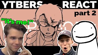 More streamers react to Dream Team SMP War Animatic | Eret, Jack Manifold...