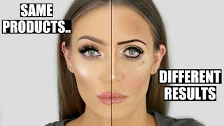 Same Products... COMPLETELY Different Results! Makeup Dos and Don'ts | STEPHANIE LANGE