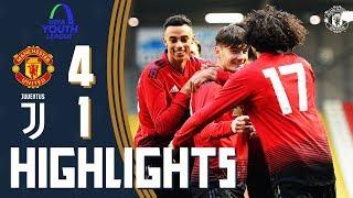 U19 Highlights | Manchester United 4-1 Juventus | UEFA Youth League