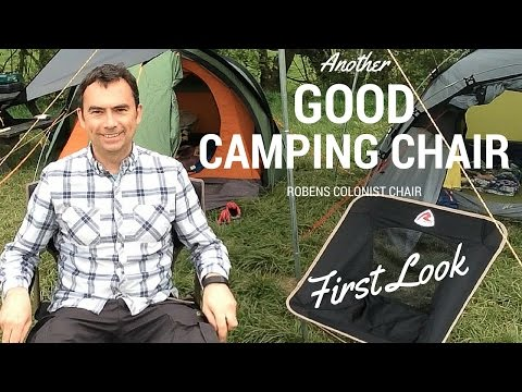 video Robens Colonist: Another lightweight chair ideal for picnics or camping