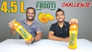 4.5 LITRE MANGO FROOTI CHALLENGE | Juice Challenge | Food Challenge