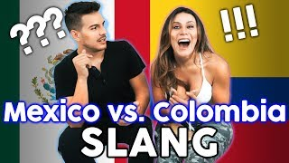 MEXICAN Vs COLOMBIAN SLANG!!! Which SPANISH Is Better?? | The Royalty Family