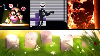 Five Nights at Freddy's 6 All Endings